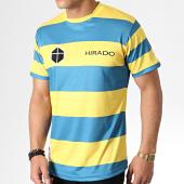 /achat-t-shirts/okawa-sport-tee-shirt-de-sport-a-rayures-olive-et-tom-hirado-bleu-clair-jaune-181724.html