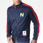 /achat-vestes/okawa-sport--veste-zippee-a-bandes-new-team-2-40002-bleu-fonce-rouge-181757.html