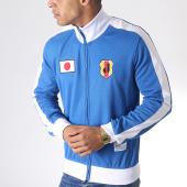 /achat-vestes/okawa-sport--veste-zippee-a-bandes-japan-bleu-roi-blanc-181770.html