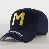 /achat-casquettes-de-baseball/okawa-sport-casquette-muppet-bleu-marine-181778.html