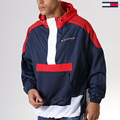 /achat-coupe-vent/tommy-sport-coupe-vent-colorblock-0117-rouge-bleu-marine-blanc-181662.html
