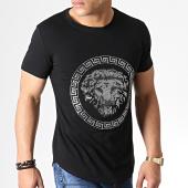 /achat-t-shirts-longs-oversize/uniplay-tee-shirt-oversize-a-strass-zs010-noir-renaissance-181854.html
