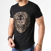 /achat-t-shirts-longs-oversize/uniplay-tee-shirt-oversize-a-strass-zs011-noir-dore-181860.html