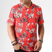 /achat-chemises-manches-courtes/celio-chemise-manches-courtes-napalm-rouge-floral-182058.html