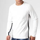 /achat-t-shirts-manches-longues/celio-tee-shirt-manches-longues-bandes-velours-nevelvet-blanc-bleu-marine-182074.html