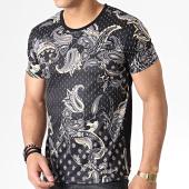 /achat-t-shirts/classic-series-tee-shirt-bandana-aj955-noir-jaune-181900.html