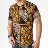 /achat-t-shirts-longs-oversize/classic-series-tee-shirt-oversize-renaissance-hnf001-noir-dore-orange-181937.html