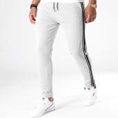 /achat-pantalons-carreaux/sky-rebel-pantalon-a-bandes-61882rs-gris-blanc-noir-182082.html