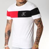 /achat-t-shirts/final-club-tee-shirt-tricolore-avec-broderie-228-blanc-182086.html