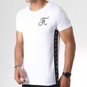 /achat-t-shirts/final-club-tee-shirt-avec-bandes-et-broderie-230-blanc-182092.html