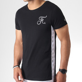 /achat-t-shirts/final-club-tee-shirt-avec-bandes-et-broderie-234-noir-182096.html