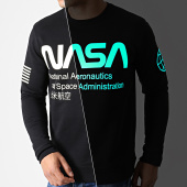 /achat-sweats-col-rond-crewneck/nasa-sweat-crewneck-glow-in-the-dark-noir-181979.html