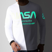 /achat-sweats-col-rond-crewneck/nasa-sweat-crewneck-glow-in-the-dark-blanc-181982.html