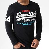 /achat-t-shirts-manches-longues/superdry-tee-shirt-manches-longues-retro-lite-m60906tu-noir-181898.html