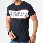 /achat-t-shirts/superdry-tee-shirt-retro-sport-m10135tu-bleu-marine-181980.html