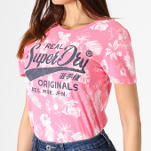 /achat-t-shirts/superdry-tee-shirt-femme-floral-real-originals-mono-tropical-g10309yu-rose-181991.html