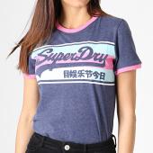 /achat-t-shirts/superdry-tee-shirt-femme-vintage-logo-ringer-infill-entry-g10326au-bleu-chine-rose-bleu-clair-182011.html