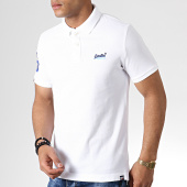 /achat-polos-manches-courtes/superdry-polo-manches-courtes-classic-pique-m11202ru-blanc-182015.html
