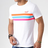 /achat-t-shirts/superdry-tee-shirt-orange-label-fluro-chestband-m10166ru-blanc-182034.html