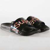/achat-claquettes-sandales/superdry-claquettes-femme-luxe-jelly-gf3930st-noir-182055.html