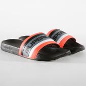 /achat-claquettes-sandales/superdry-claquettes-retro-colour-block-mf3150su-noir-coral-gris-182062.html