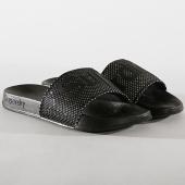 /achat-claquettes-sandales/superdry-claquettes-femme-mesh-pool-gf3940st-noir-182069.html