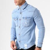 /achat-chemises-manches-longues/zayne-paris-chemise-jean-manches-longues-2937-bleu-clair-181920.html