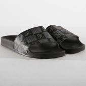 /achat-claquettes-sandales/final-club-claquettes-premium-logo-damier-264-noir-182197.html