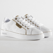 /achat-baskets-basses/guess-baskets-femme-fl7banele12-white-gold-182126.html