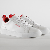 /achat-baskets-basses/guess-baskets-fm7luilea12-white-red-182129.html