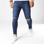 /achat-jeans/lbo-jean-super-skinny-fit-troue-795-ss-2b-denim-bleu-fonce-182202.html
