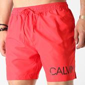 /achat-maillots-de-bain/calvin-klein-short-de-bain-medium-drawstring-side-0303-rouge-182210.html