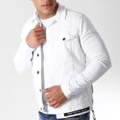 /achat-vestes-jean/classic-series-veste-jean-destroy-dh-1951-blanc-182234.html