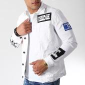 /achat-vestes-jean/classic-series-veste-jean-destroy-dh-2614-blanc-182242.html