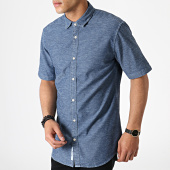 /achat-chemises-manches-courtes/only-and-sons-chemise-manches-courtes-ted-denim-bleu-marine-chine-182326.html