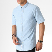 /achat-chemises-manches-courtes/only-and-sons-chemise-manches-courtes-ted-denim-bleu-clair-182327.html