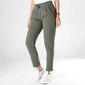 /achat-pantalons-carreaux/only-pantalon-femme-catia-vert-kaki-182400.html