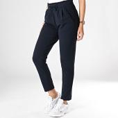 /achat-pantalons-carreaux/only-pantalon-femme-catia-bleu-nuit-182402.html