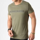 /achat-t-shirts/calvin-klein-tee-shirt-institutional-logo-7856-vert-kaki-182547.html
