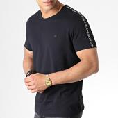 /achat-t-shirts/calvin-klein-tee-shirt-a-bandes-logo-tape-2577-noir-blanc-182553.html
