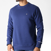 /achat-sweats-col-rond-crewneck/calvin-klein-sweat-crewneck-chest-badge-2771-bleu-marine-182562.html