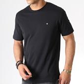 /achat-t-shirts/calvin-klein-tee-shirt-badge-2807-noir-182566.html