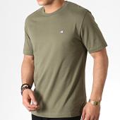 /achat-t-shirts/calvin-klein-tee-shirt-badge-2807-vert-kaki-182570.html