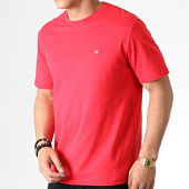 /achat-t-shirts/calvin-klein-tee-shirt-badge-2807-rouge-182571.html