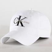 /achat-casquettes-de-baseball/calvin-klein-casquette-monogram-4870-blanc-182591.html