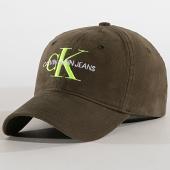 /achat-casquettes-de-baseball/calvin-klein-casquette-monogram-4870-vert-kaki-182593.html