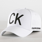 /achat-casquettes-de-baseball/calvin-klein-casquette-ck-jeans-4872-blanc-182597.html