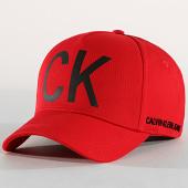 /achat-casquettes-de-baseball/calvin-klein-casquette-ck-jeans-4872-rouge-182598.html