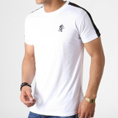 /achat-t-shirts/gym-king-tee-shirt-a-bandes-jones-blanc-noir-182455.html
