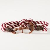 /achat-bracelets/icon-brand-bracelet-captain-flint-bordeaux-blanc-dore-182510.html